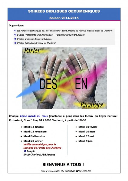rencontres oecuméniques Bastia