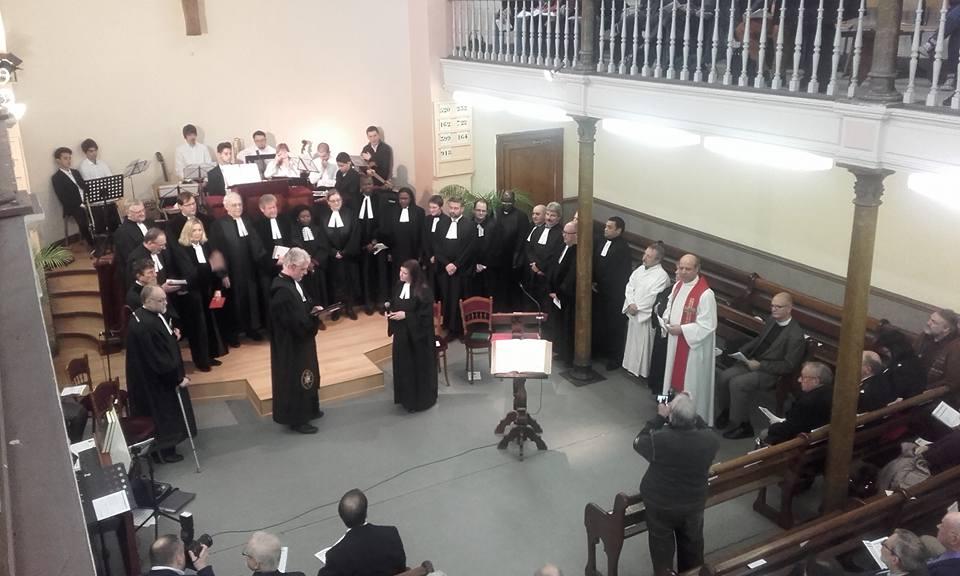 Consecration pastorale et installation Marie-Line